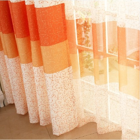 Curtains Ideas Cheap Orange Curtains : Online Buy Wholesale Sheer Orange  Curtains From China Sheer Orange