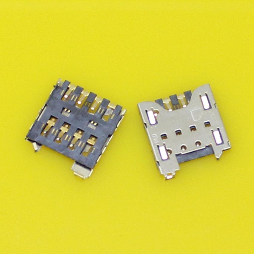 2pcs/lot Brand New sim card socket reader holder slot tray adapters for Blackberry Q10 Z10.