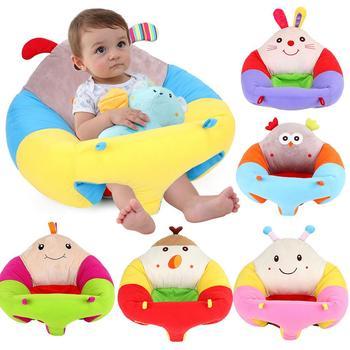 Best Price 2kecr Cartoon Infant Baby Seat Learning Sitting Seat
