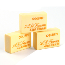Deli Soft Eraser Student Writing Painting Rubber 4B Art Drawing Sketch Eraser Pupil Writing Correction Eraser Gomas De Borrar