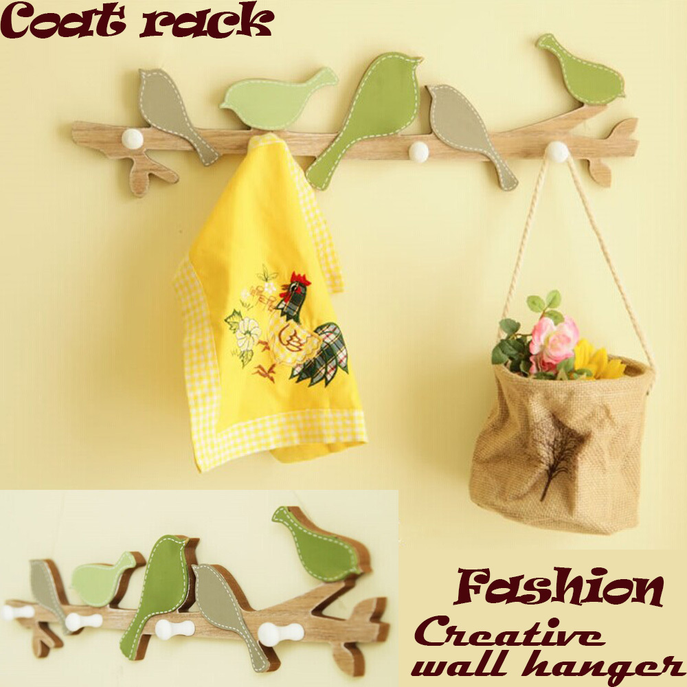 Simple modern wall shelf shelving rack Korean Style Natural Theme ...