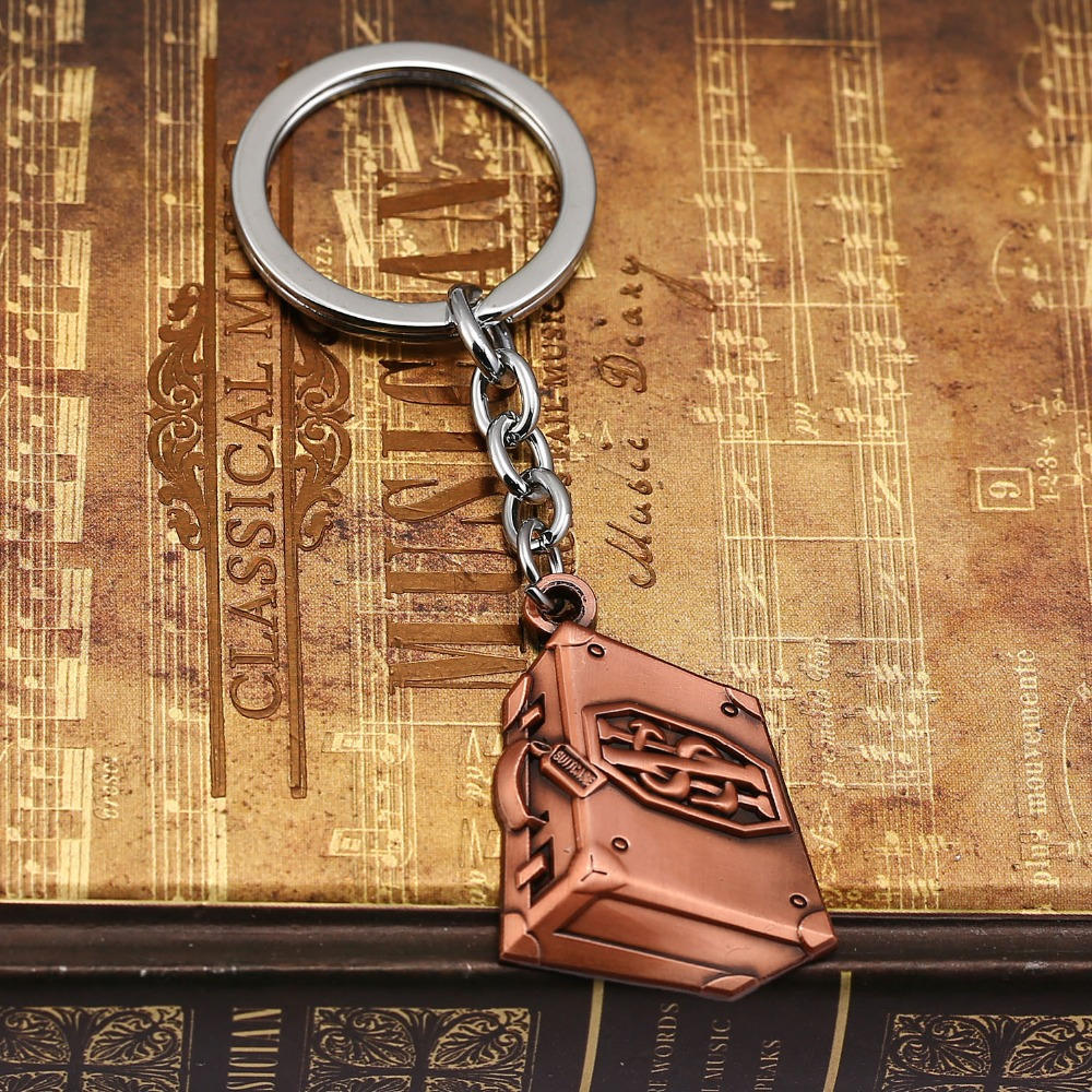 Magic movie Fantastic Beasts and Where to Find Them keychain The treasure chest key holder women&men gift trinket