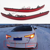 Car Styling For Kia Optima K5 2011 2012 2013 Red Brake Tail Light LED Red Rear