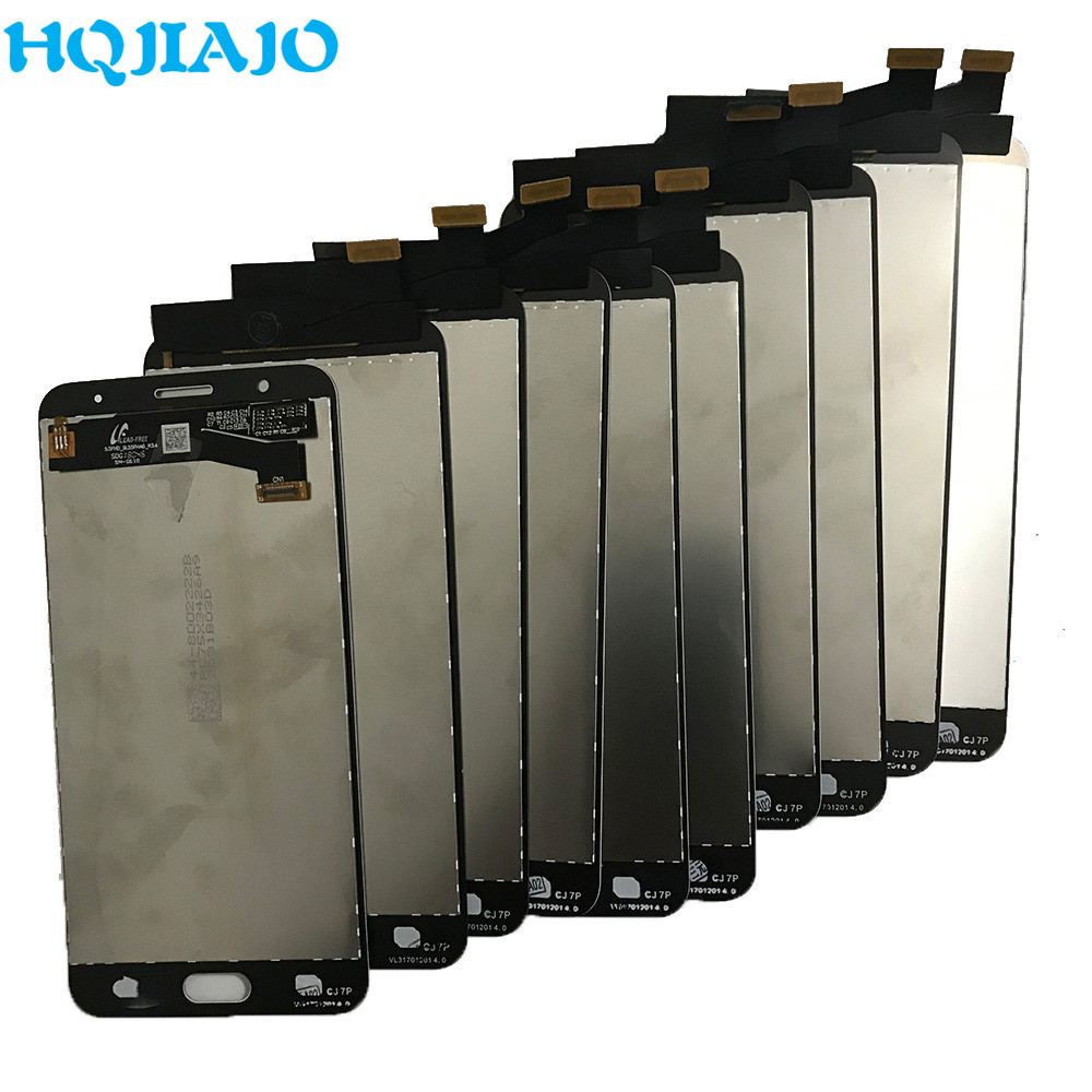10 Piece/lot Test LCD For Samsung Galaxy J7P J7 Prime G610 G610M G610F G610Y LCD Display Touch Screen Digitizer Assembly 5.5''