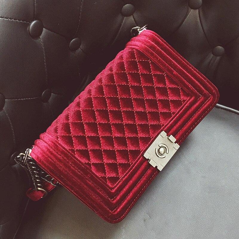 profiter de prix bas choisir le dernier baskets Broderie diamant sac femme velours luxe sacs à main femme sacs Designer  mode Bolsa Feminina femmes sacs à bandoulière