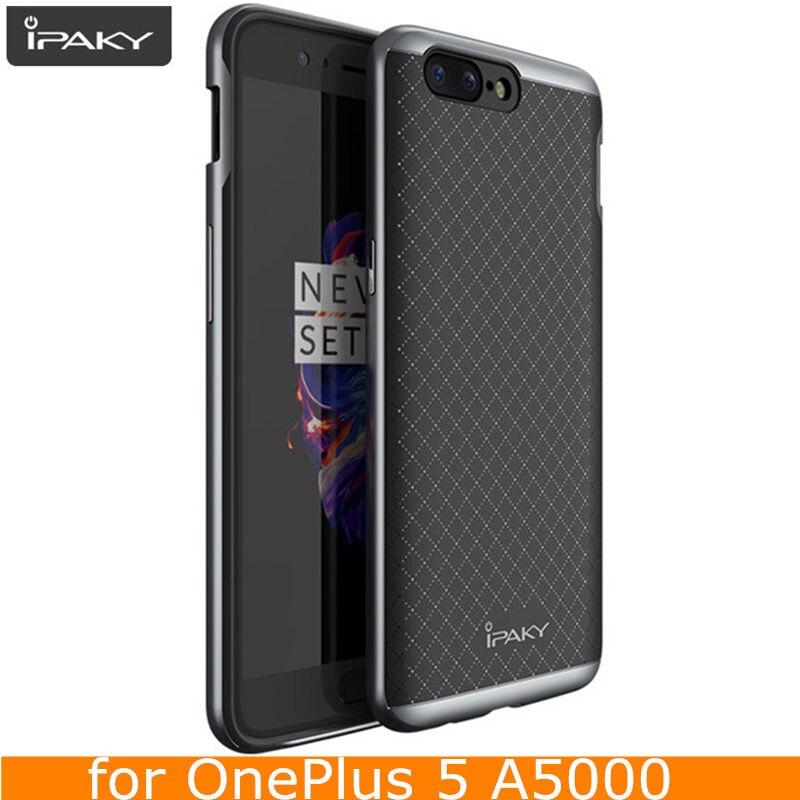 Pentru OnePlus 5 Case Original iPaky Marcă silicon PC hibrid - Accesorii și piese pentru telefoane mobile