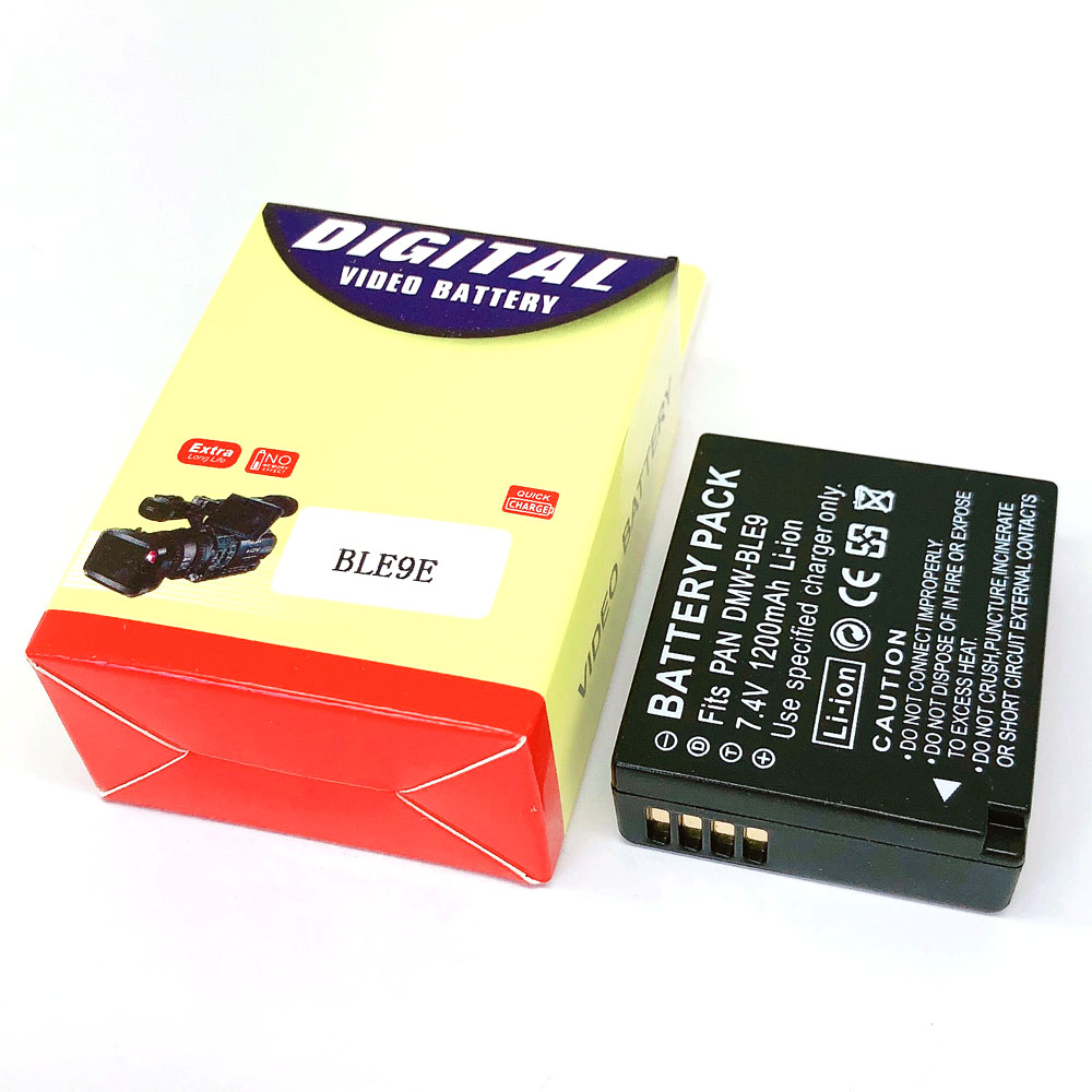 DMW-BLE9E DMW-BLG10 BLG10E BLG10PP BLE9 BLE9PP BP-DC15 Bateria para Panasonic DMW DMC-GF3 GF5 GF6 GX7 GX80 GX85 ZS60 ZS100 TZ100