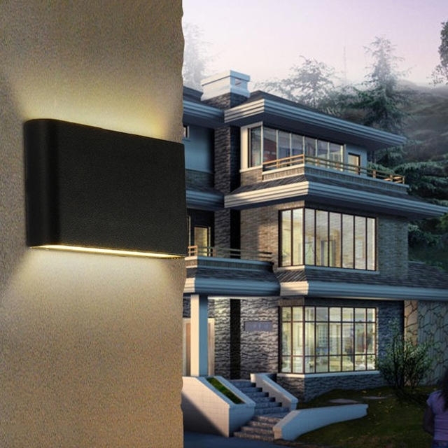 Outdoor verlichting moderne buiten lichtpunt aluminium waterdichte ...