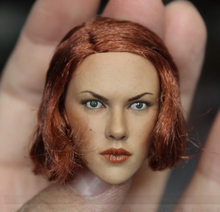 1/6 Black Widow 2.0 Scarlett Johansson Head for 12'' Female Bodies Figures все цены