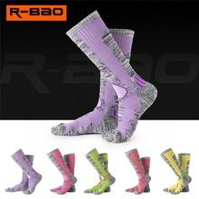 1pair Womens 23cm High Tube Socks Autumn Winter Skiing Climbing Camping Dress Cycling Bowling Hiking Sock 4 Colors
