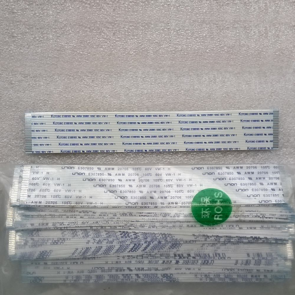Kotobo E188165 AWM 20861 105C 60V VW-1 Ribbon Flexible FFC Cable