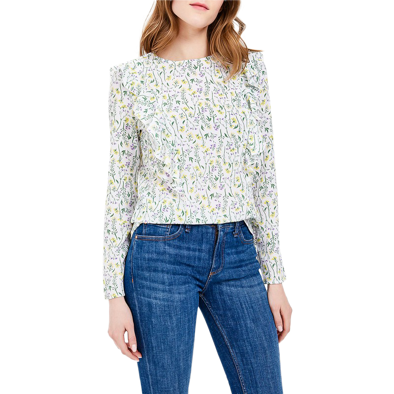 Blouses & Shirts MODIS M181W00371 woman blouse shirt blusas for female TmallFS женские блузки и рубашки women blouses 2015 blusas