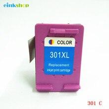 einkshop 301 Refilled Ink Cartridge Replacement for hp xl 301XL Deskjet 1000 1050 2000 2050 3000 3050 3050a printer