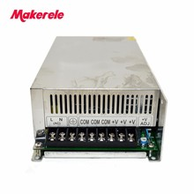 Switching power supply 600w Single Output  CE China factory 18v S-600-18 33A for AC TO DC