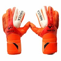 Professional Soccer Goalkeeper Glvoes Latex Finger Protection Fingerstall School Children Kids Football Goalie Gloves