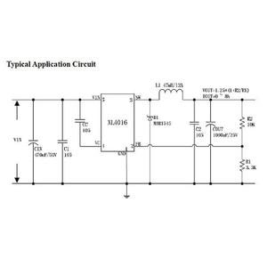 Image 5 - XL4016E1 ハイパワー DC 電圧レギュレータ DC DC XH M401 降圧モジュール最大 8A タイヤ電圧レギュレータ