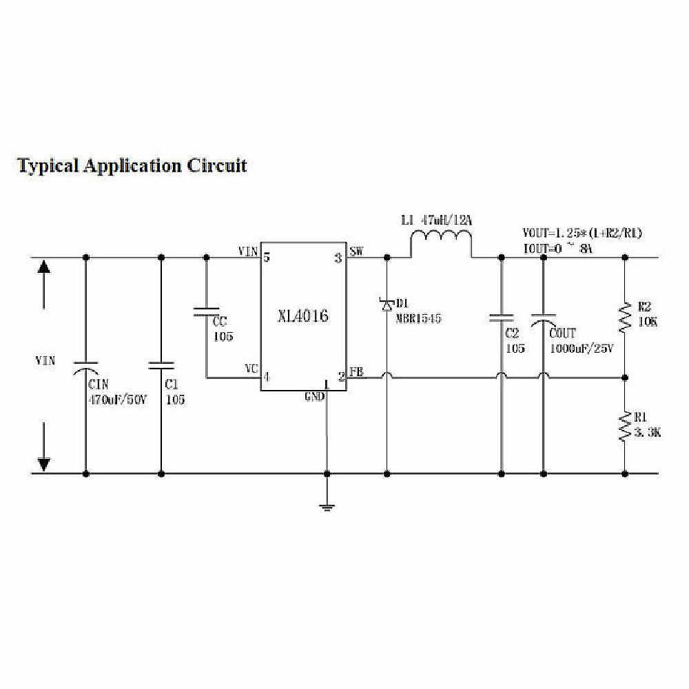 Dc Voltage Regulator Circuit Diagram