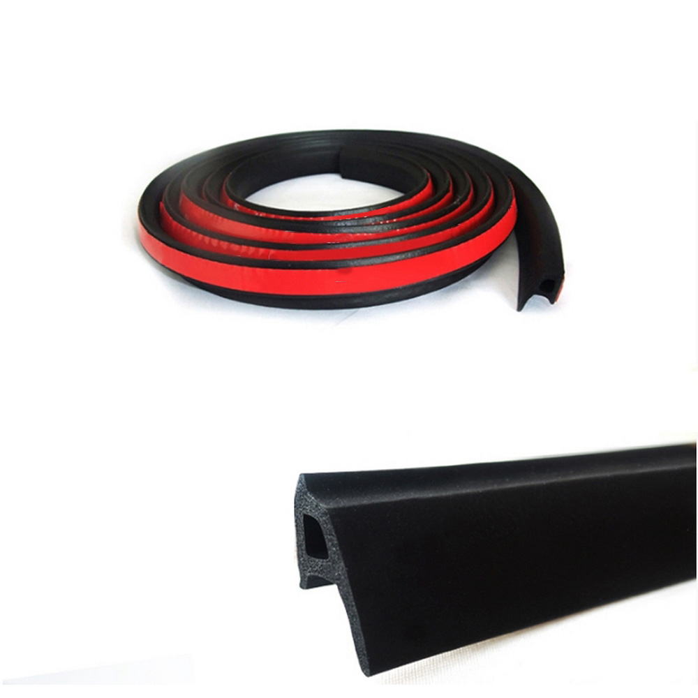 Image 5 - P Type 3M 4M Car Door Sealing Strip Weatherstrip Edge Trim Car Door Rubber Seal Sound Insulation Auto Rubber Seal Strips-in Fillers, Adhesives & Sealants from Automobiles & Motorcycles