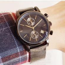 2c1eb4820063 Montres homme Top Marque De Luxe patron Célèbre Montres De Mode décontracté  En Cuir montre pour homme montres à quartz montres R..
