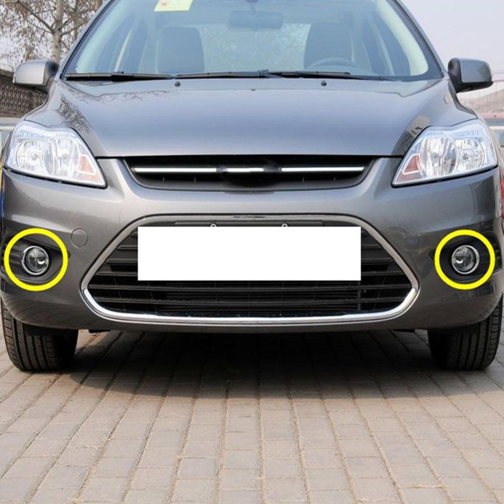 Chrome передние противотуманные свет лампы чехол накладка для Ford Focus 2 MK2 2009-2012 1 пара dec19