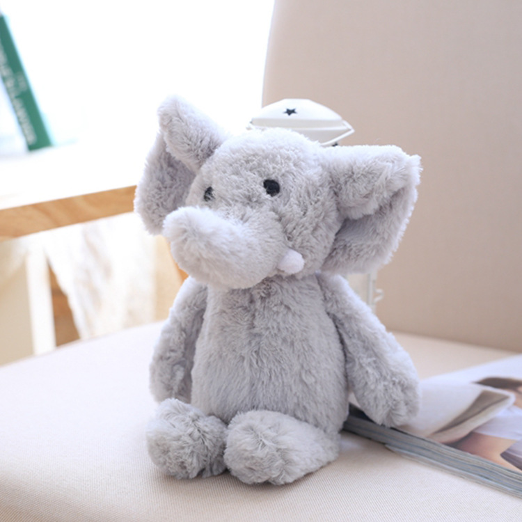25cm Plush Elephant Doll Toy Kids Sleeping Cushion Cute Stuffed Baby Christmas Gift NTDIZ0196 in Movies TV from Toys Hobbies