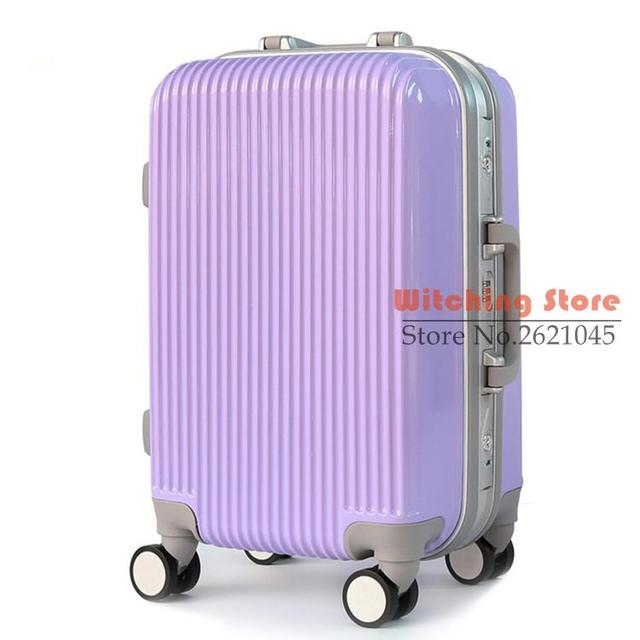 24 INCH  202428# New explosion models of high-end classic lovers PC aluminum frame bar box silent universal wheel travel boardin