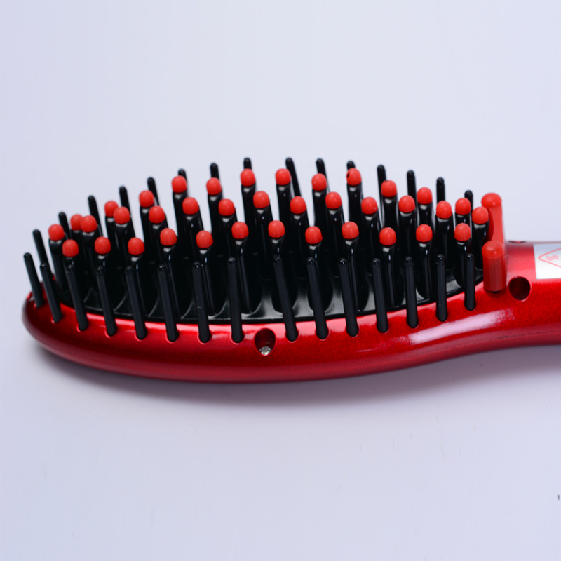 Free Shipping Hair Brush Fast Hair Straightener Comb hair Electric brush comb Irons Auto Straight Hair Comb brush 1