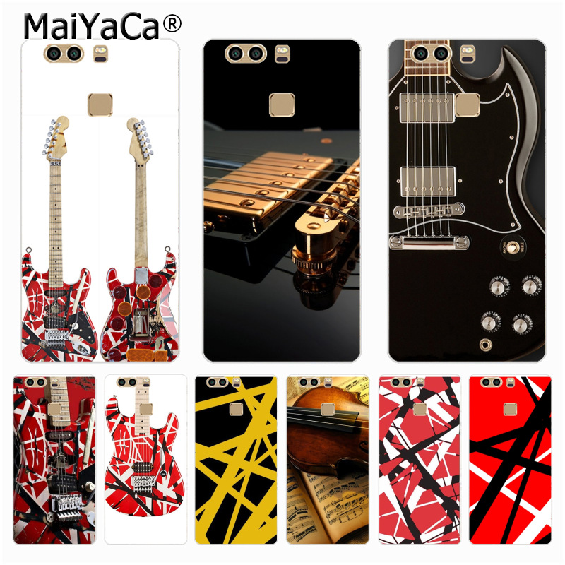 3efbc37fbe5 MaiYaCa Eddie Van Halen Graphic Guitar Phone case Accessories for Huawei P9  p6 p7 p8 p10 plus case coque for redmi 2 note 2 case-in Half-wrapped Case  from ...