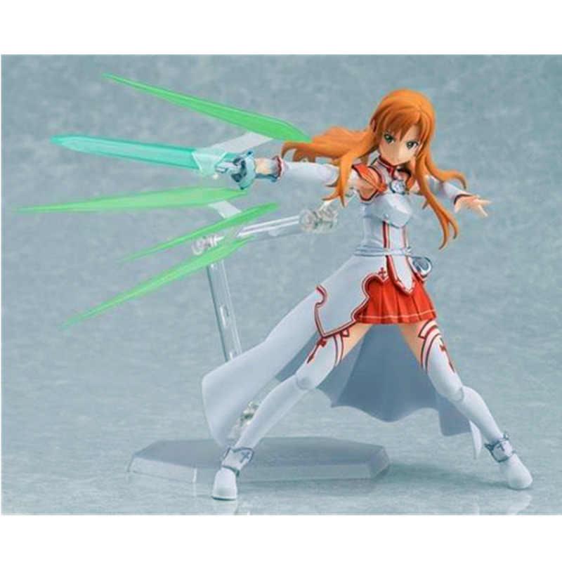 Japão Anime Espada de Arte Em Linha Yuuki Asuna Figma 178 AsunaYuuki Figuras de Ação Brinquedos Figura PVC Modelo Boneca de Brinquedo com Caixa caçoa o Presente