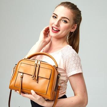 Nice Box Bags Luxury Brand Women Lay Bag 2017 Italian cowhide Handbags Purse Leather Lady Hand Collection Bag  US $44.55 / pie