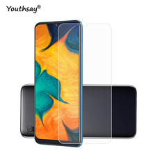 2PCS For Glass Samsung Galaxy A30 Screen Protector Tempered Film 9H