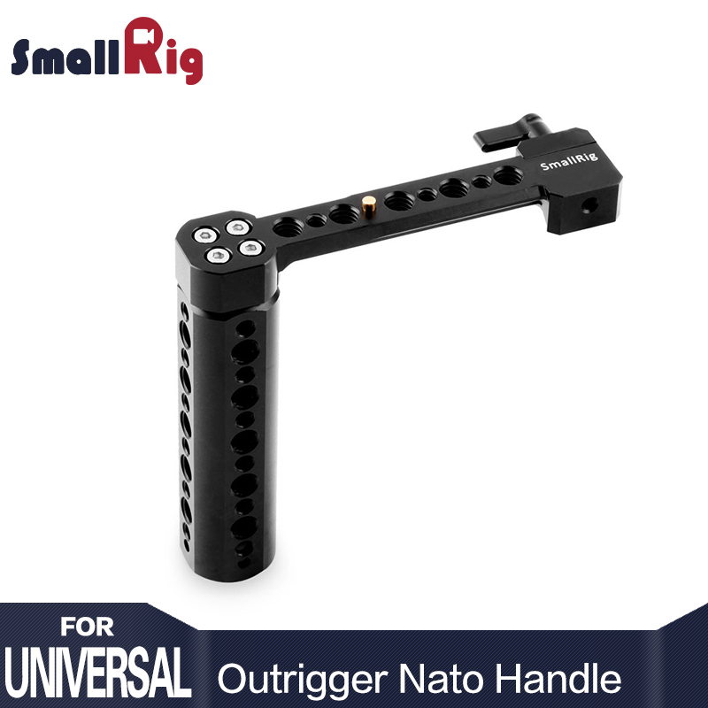 SmallRig Side NATO Handle for DSLR with NATO Rail and Clamp Attaches to Any NATO compatible