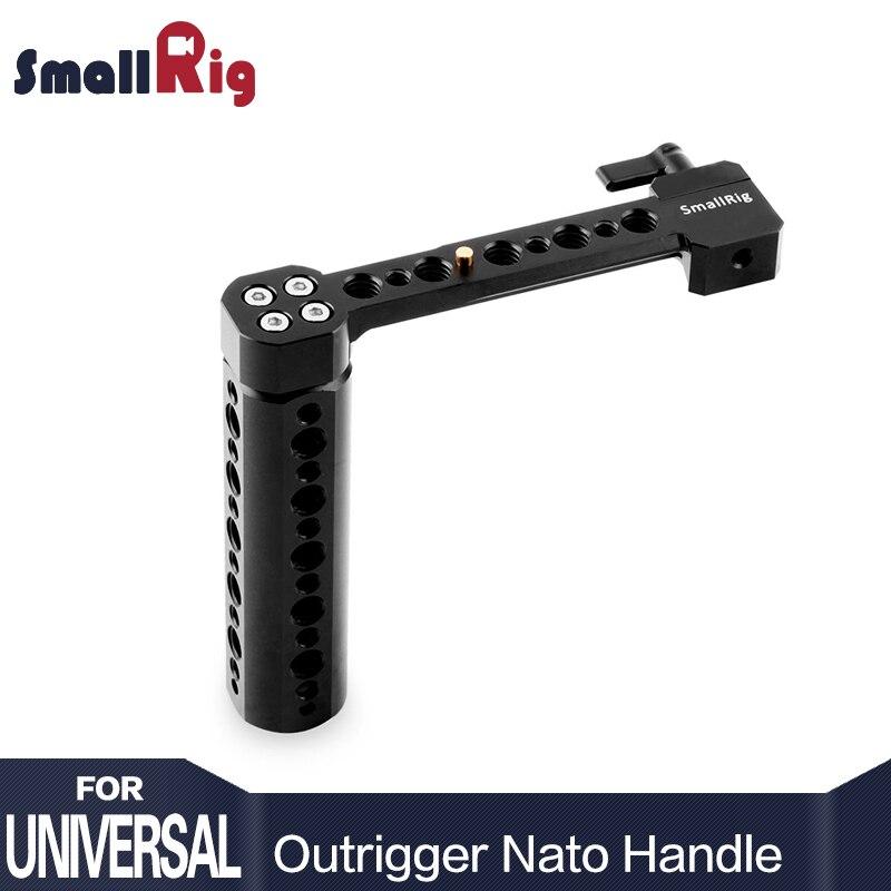 SmallRig Côté L'OTAN Poignée pour DSLR avec L'OTAN Rail et Pince Fixe à N'importe Quel L'OTAN compatible appareils-1534