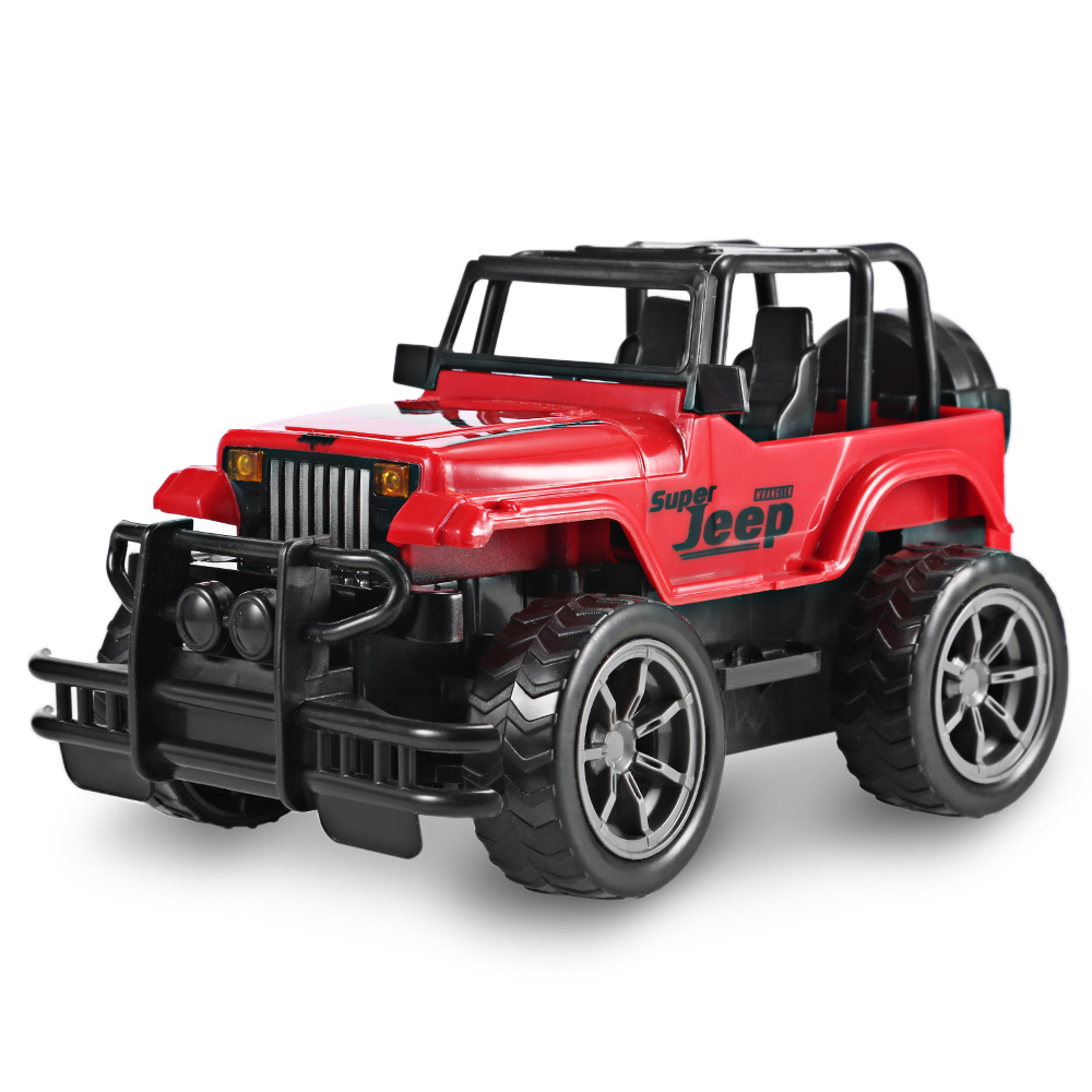 Rc Jeep Car 1 24 Scale Vehicle Toy Cars Off Road Remote Control Car