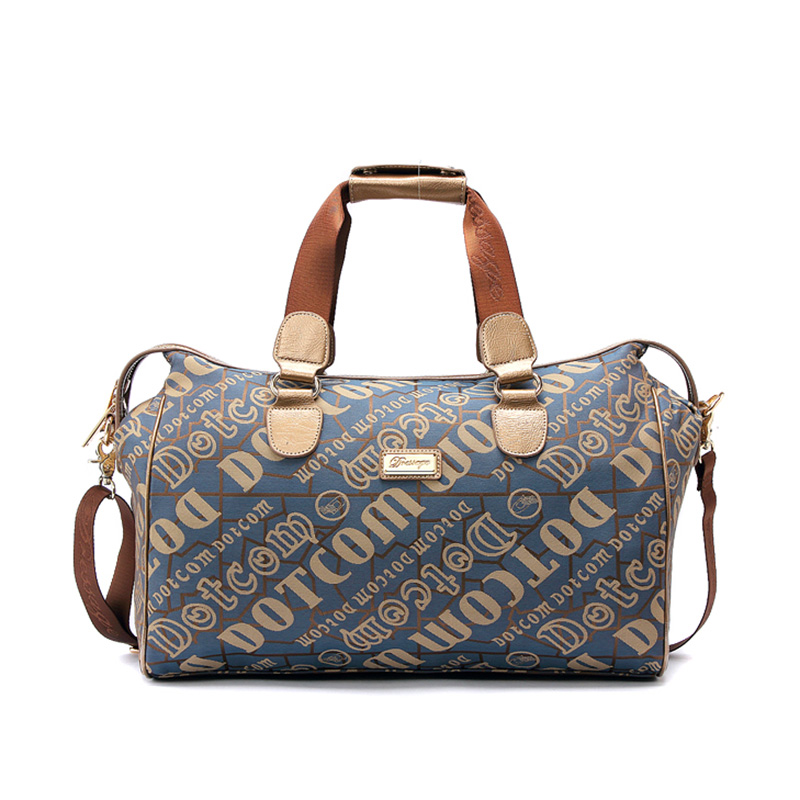 Us 45 0 Canvas Women Travel Bags Carry On Luggage Duffel Tote Large Weekend Bag Overnight In From