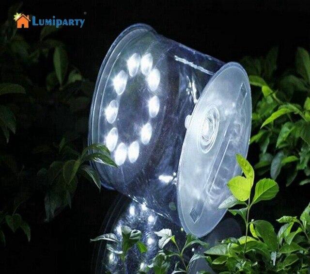 Lumiparty 2017 Nouveau 10LED Solaire Alimenté Pliable Gonflable ...