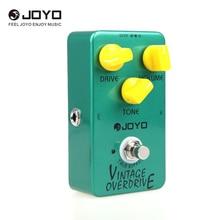 Joyo JF 01 Vintage Overdrive Guitar Effect Pedal True Bypass Guitar Accessories