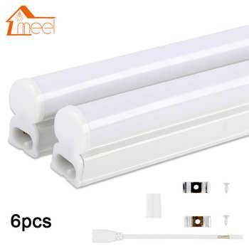 6Packs 220V 240V LED Tube T5 T8 Light 6W 10W LED Fluorescent Tube Wall Lamp Bulb 30/60cm Led Integrated Tube Cold White - DISCOUNT ITEM  25% OFF All Category