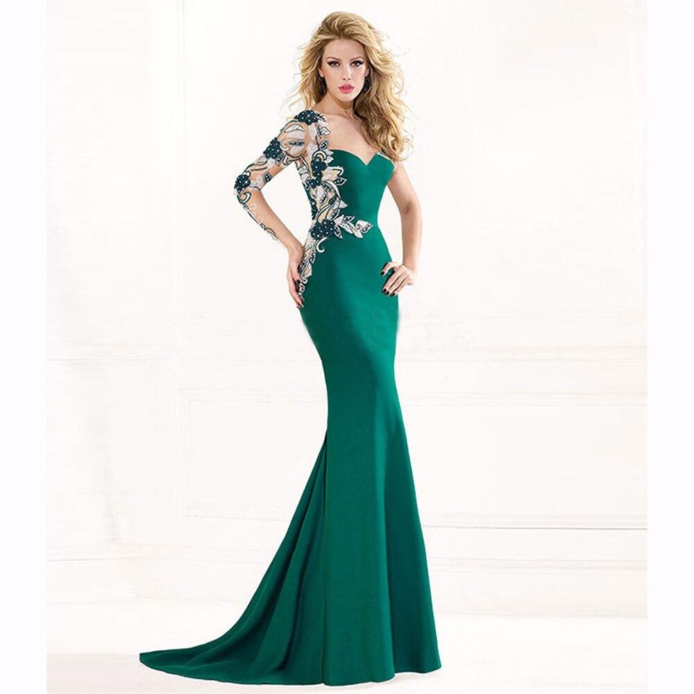 Длинные зеленые платья картинки