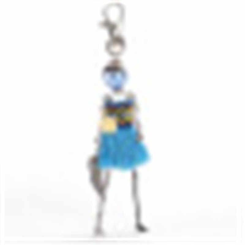 2019 novo 1 pçs boneca bebê bonito feminino chaveiro carro pingente meninas artesanal instrução moda jóias saco chaveiros quente chaveiro