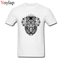 Demon Printed On Men S T Shirt Retro Style Latest Design Male Fashion Black Tops Tees