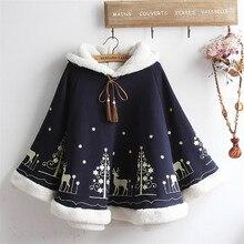 Женская толстовка с капюшоном, корейский стиль, уличная одежда, Женская Рождественская Толстовка с оленем, Женская, KK2578 X
