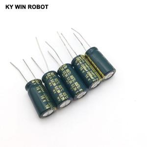 Image 5 - 16V 2200UF 10*20 高周波低インピーダンスアルミ電解コンデンサ 2200uf 16v