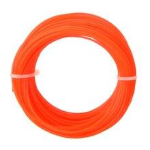 15 м* 1,25 мм нейлоновый триммер веревка валик резак стример линия провода для газонокосилки аксессуар