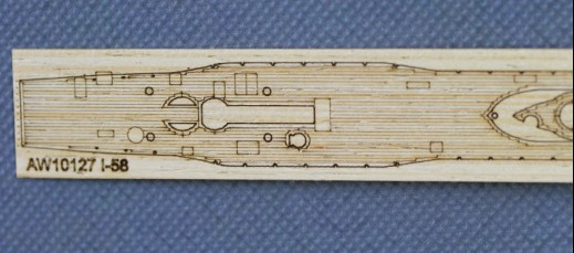 /AFV/SE73508 ARTWOX Japanese Iraqi -58 submarine wooden deck AW10127