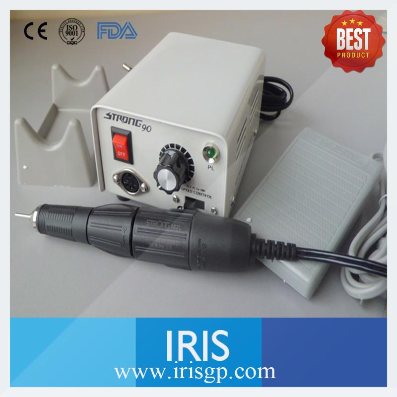 Wholesale Dental Lab Polishing Equipment Micromotor Hand piece High Speed 35000rpm Strong 90 102/102L Micromotor Hand piece original korea strong 204 electric micromotor strong 102l dental lab hand polishing polisher 220v 0 35000 rpm teeth whitening