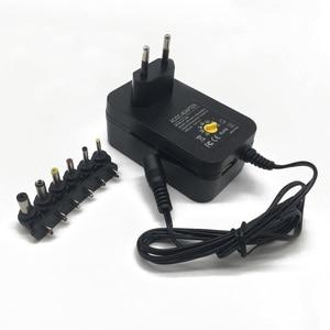 Image 1 - 3 v 4.5 v 5 v 6 v 7.5 v 9 v 12 v 2A 2.5A ac dc アダプター調節可能な電源アダプタユニバーサル充電器 led ライトストリップラメ