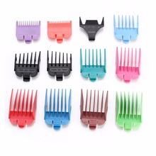 Hair Trimmer new design 12 in 1 guide comb set 1.5/3/6/10/13/16/19/22/25mm