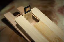 Credit Card Model Wooden Pen Drive