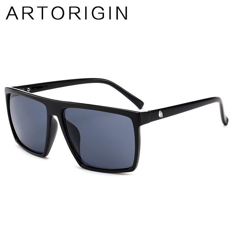 ARTORIGIN Vintage Skull Sunglasses Men Women Square Mirror Unisex Glasses For Young Personal Oculos Gafas 9268